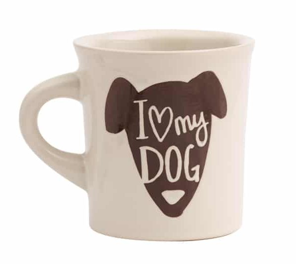 I Love My Dog Cuppa Mug